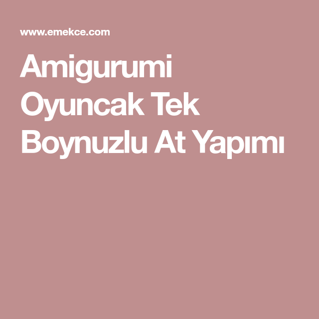 Amigurumi Unicorn Yapımı - Kafa Yapılışı 1.Bölüm #ayseilediy - YouTube | 640x640