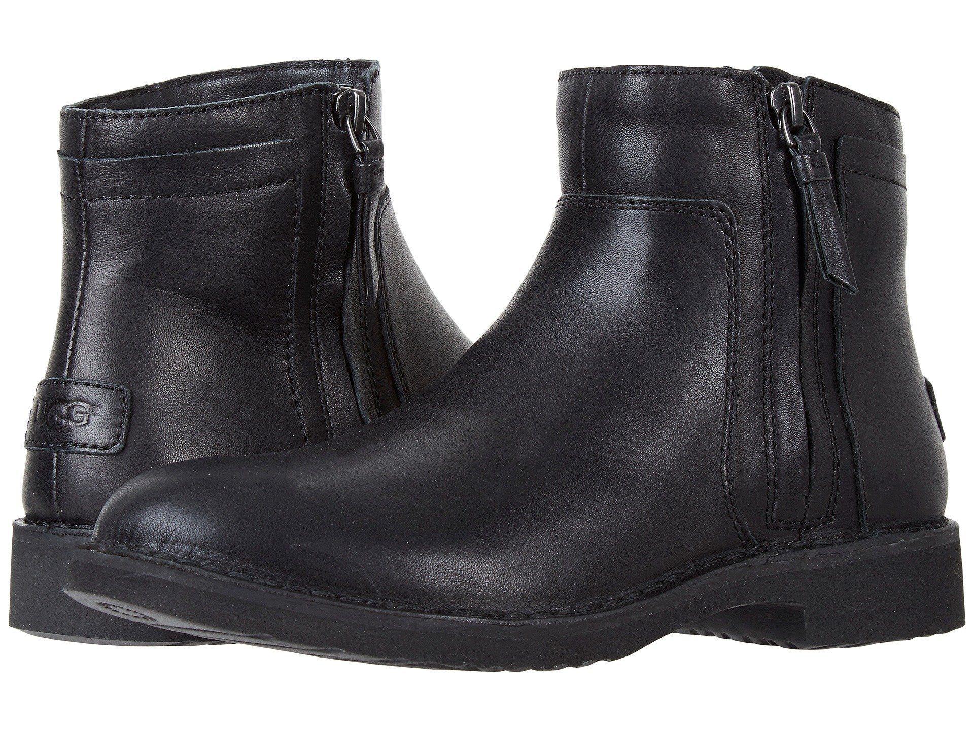 ef3783db0ae UGG Rea Leather Women | Black (1019191) | Products | Boots, Ugg ...