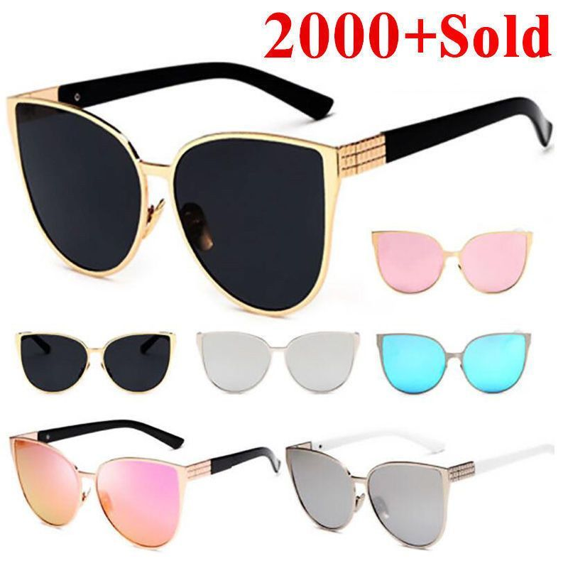 Womens Mens Sunglasses,Square Vintage Mirrored Sunglasses Eyewear Oversized Outdoor Sports Driving Glasses