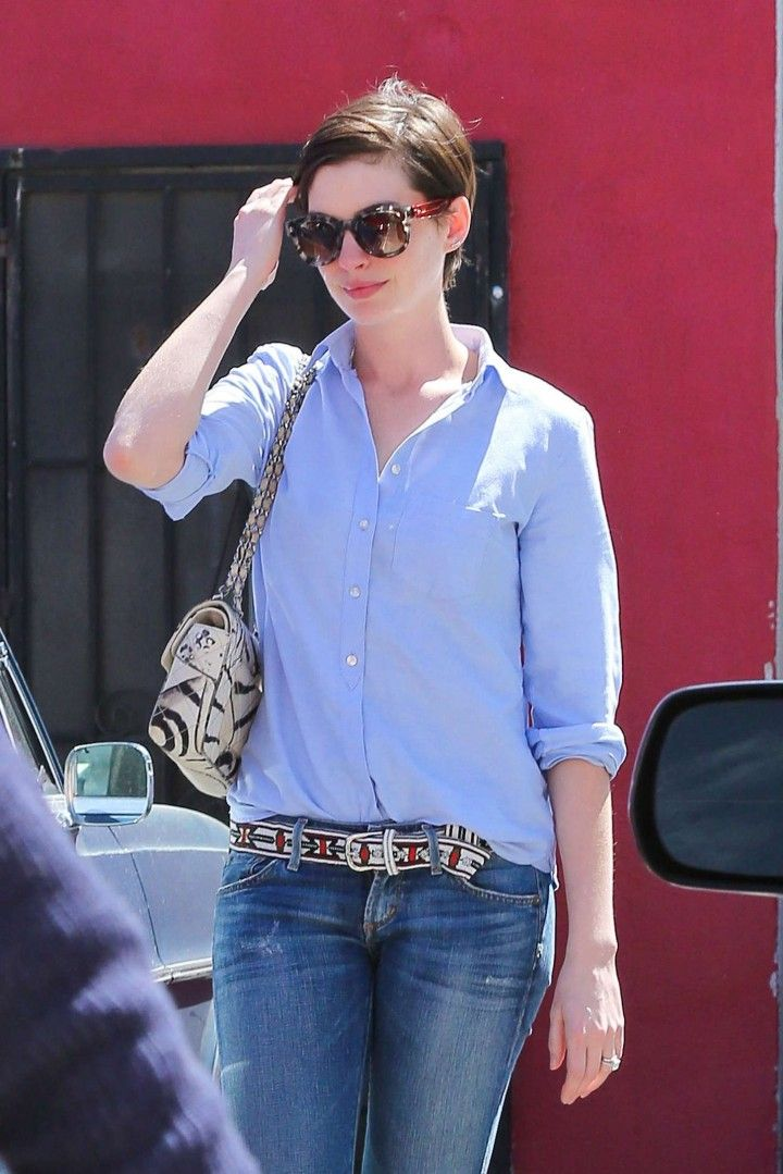 Anne Hathaway Jeans