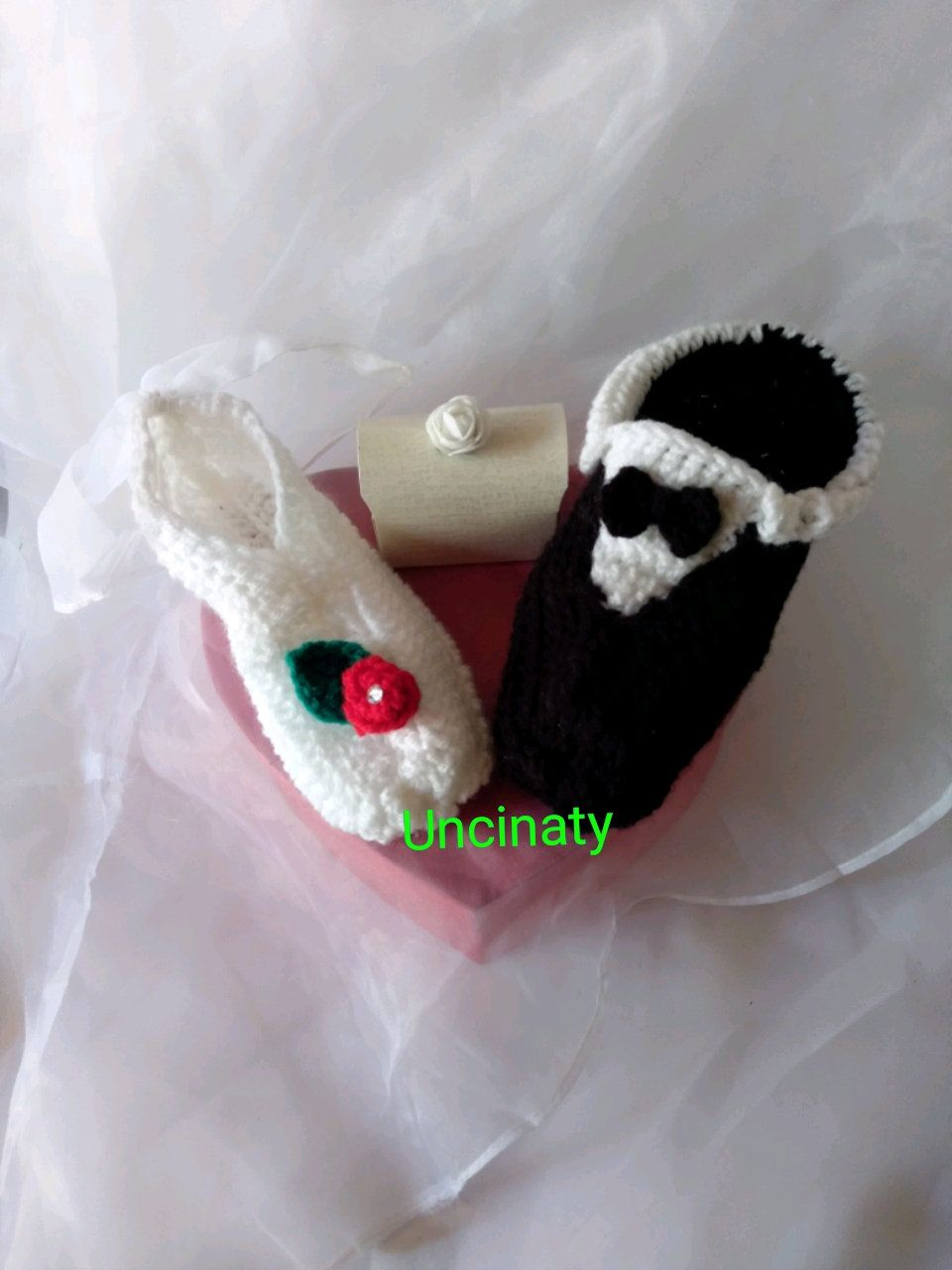 Photo of Pantofole sposi! Wedding slippers!