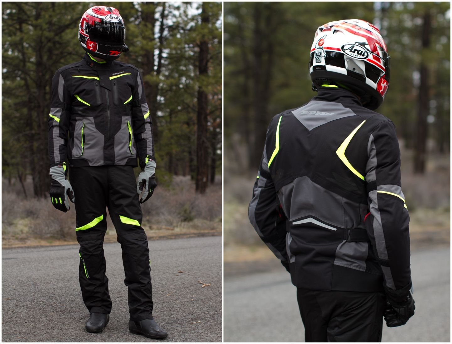 Spidi XTour H2Out Set Review Motorcycle jacket
