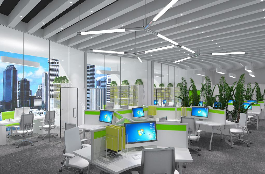 Open Office Interior Design Google Search Home Office Layouts Modern Office Design Office Interior Design