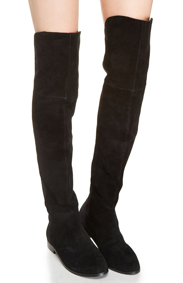 Chinese Laundry Riley Thigh High Boot In Black Boots Thigh High