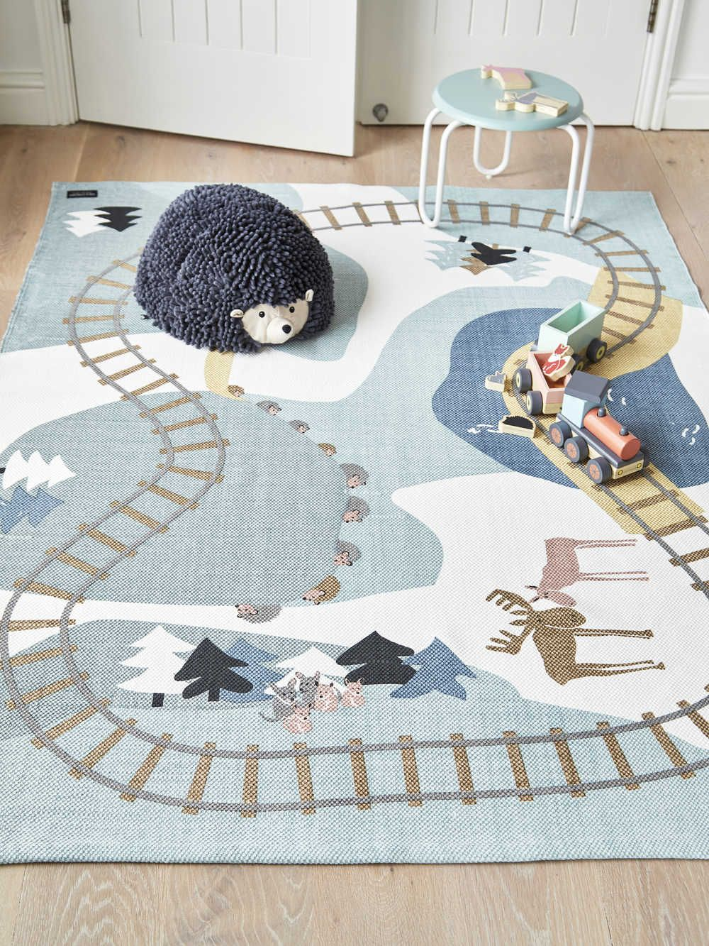 Scandi Play Rug Kids Bedroom Rugs Boys Bedroom Rugs Kids Rugs