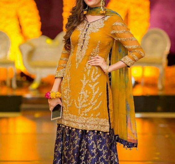 Mehndi Designs Jans : Bridal mehndi dresses collection eastern fashion