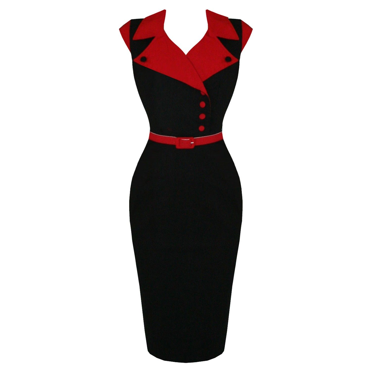 Red pencil dress - Google Search   Fashion,Just My Style ...