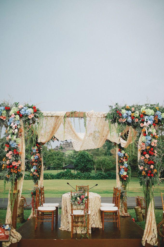 Bohemian Wedding Deco Ion Ideas An Eclectic Bohemian Javanese Wedding At Borobudur Temple