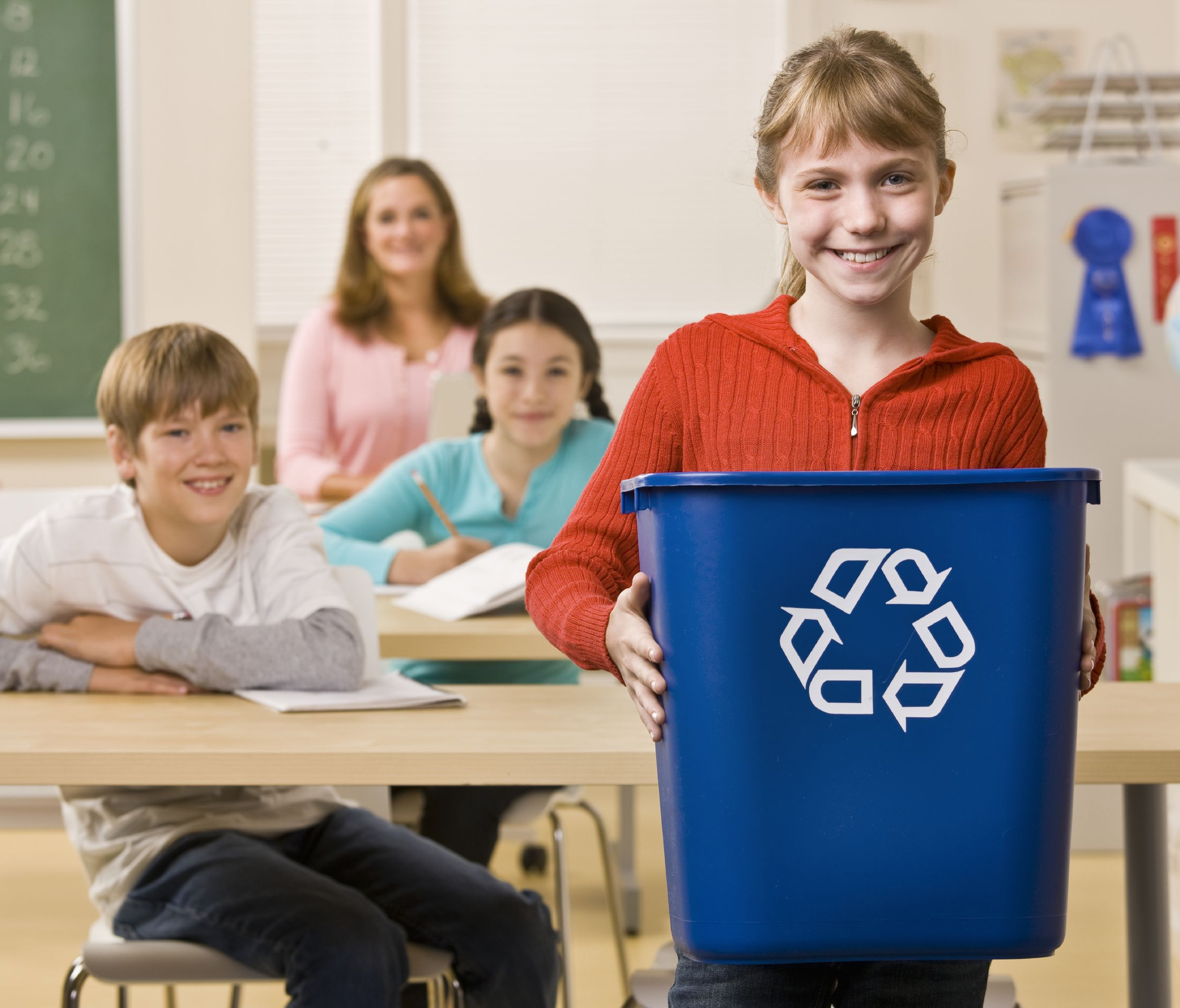 Recycling is fun for everyone!