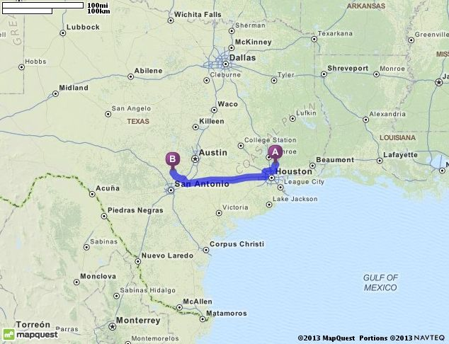 Driving Directions From Porter Texas To Spring Branch