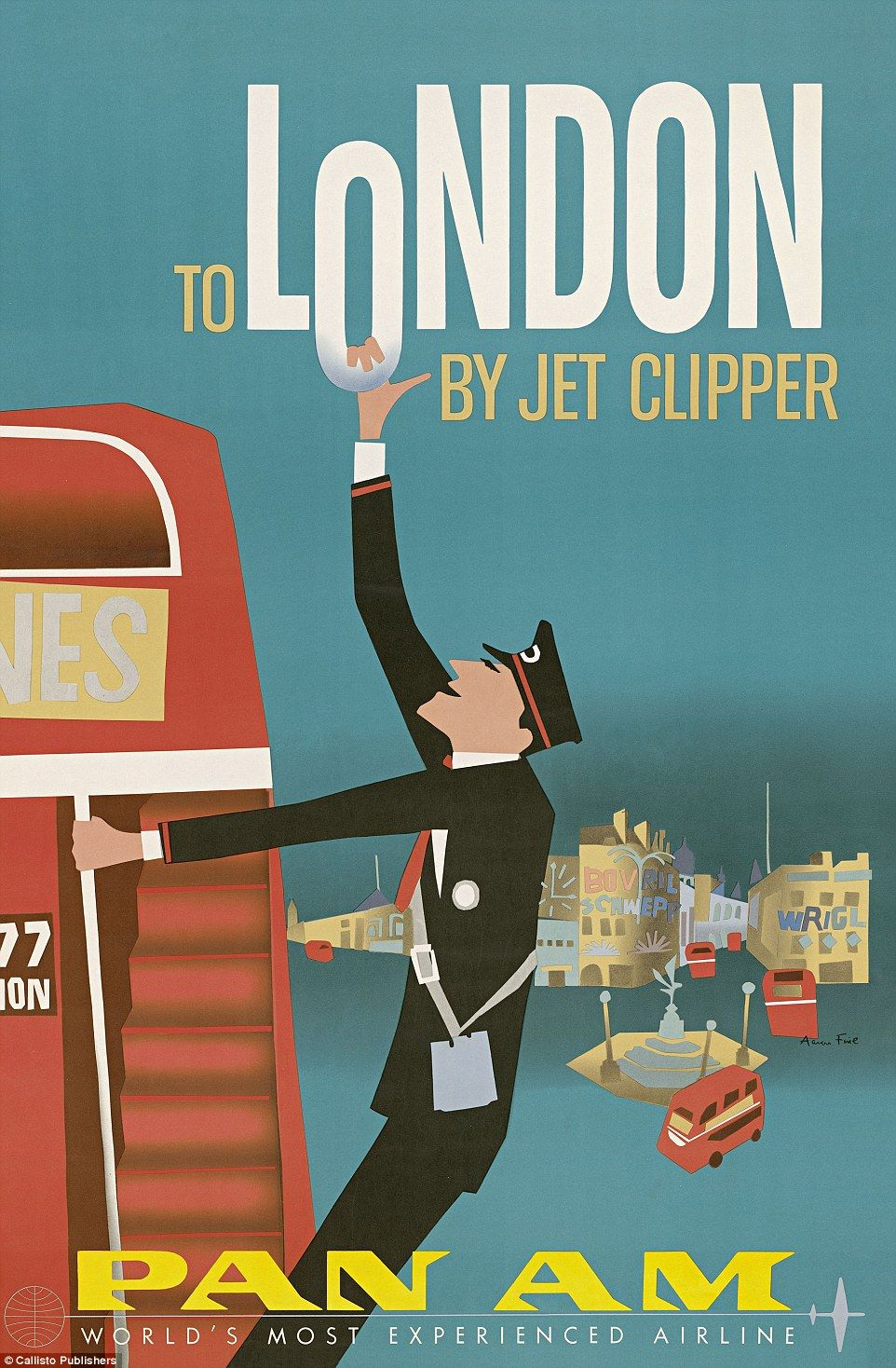 Vintage Airline Ads Reveal Glamour Of Golden Age Of Travel