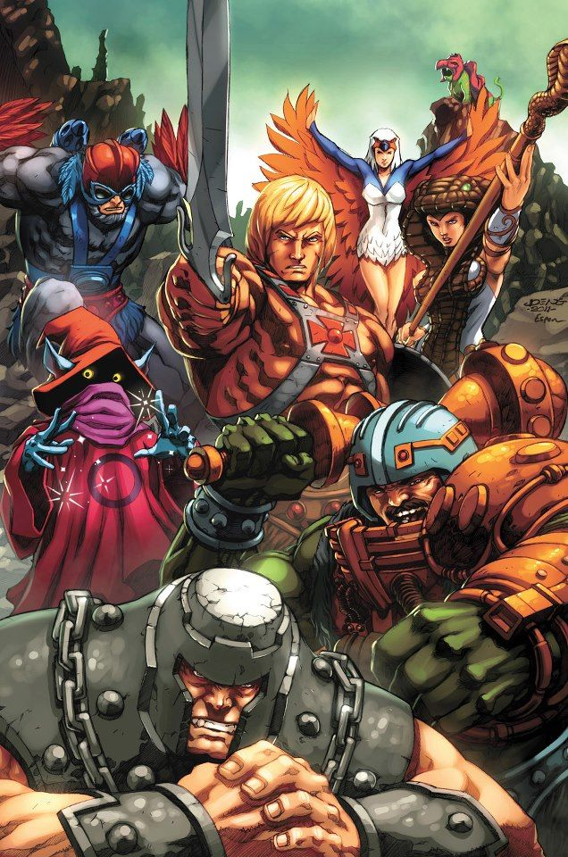 Masters of the Universe by on