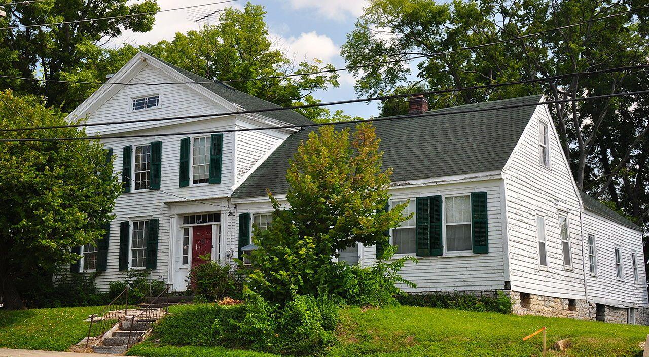 Frizel-Welling House in Cape Girardeau County, Missouri.