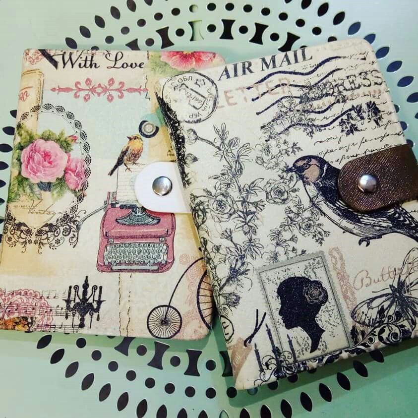 Berryous , decoupage note book (book cover) Cameron