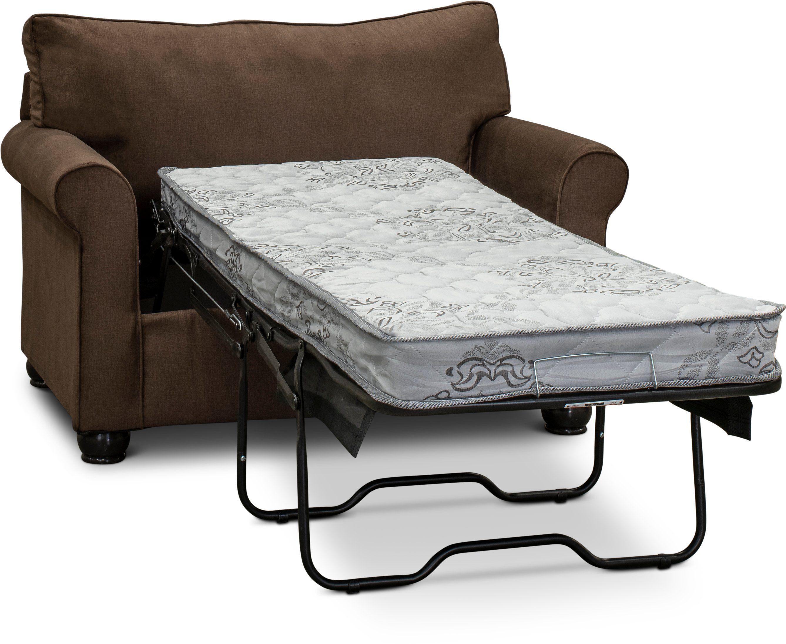 Superb Chocolate Brown Twin Sofa Bed Jojo 42Nd Street House Beatyapartments Chair Design Images Beatyapartmentscom