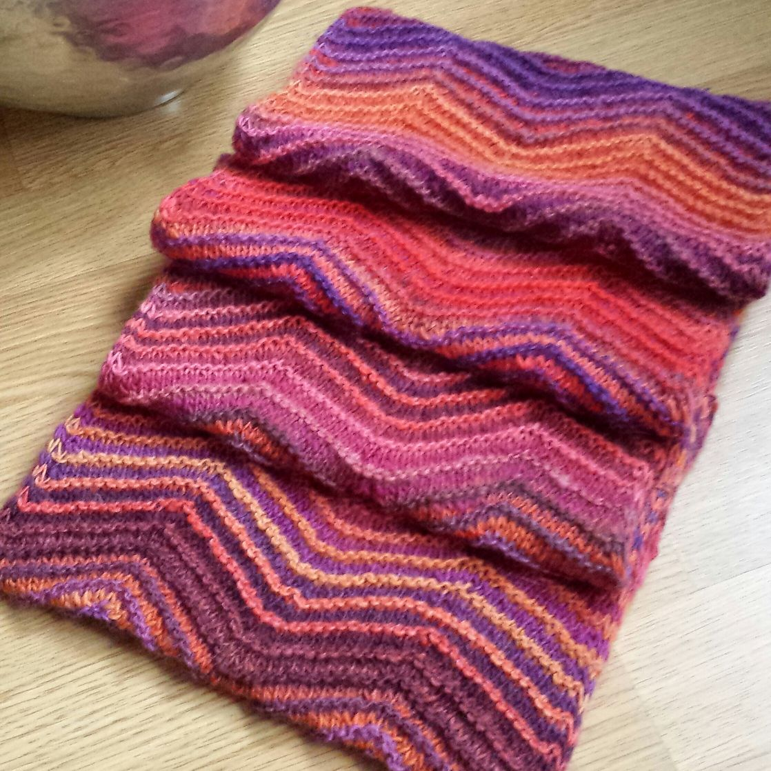 Free Knitting Pattern - Cowls and Neck Warmers: Chevrons All Round ...