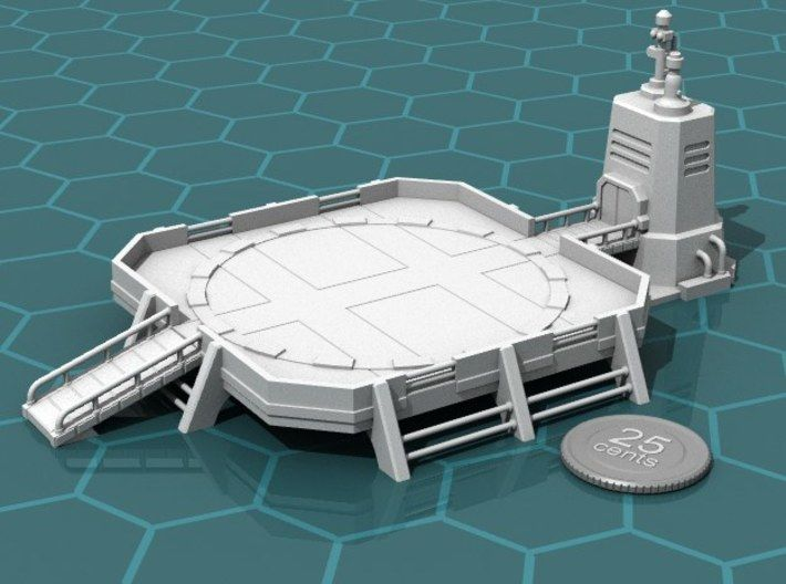 Landing Pad by coines23 on   Inspirations of fantastic Art