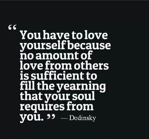 Always love yourself and compliment yourself daily.. even if you don't mean it because your subconscious mind is ALWAYS listening. #quotes #love #happiness