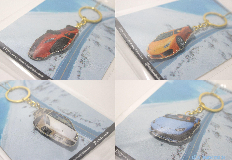 Handmade Lamborghini Key Chain Friend Gift Lamborghini Keyring