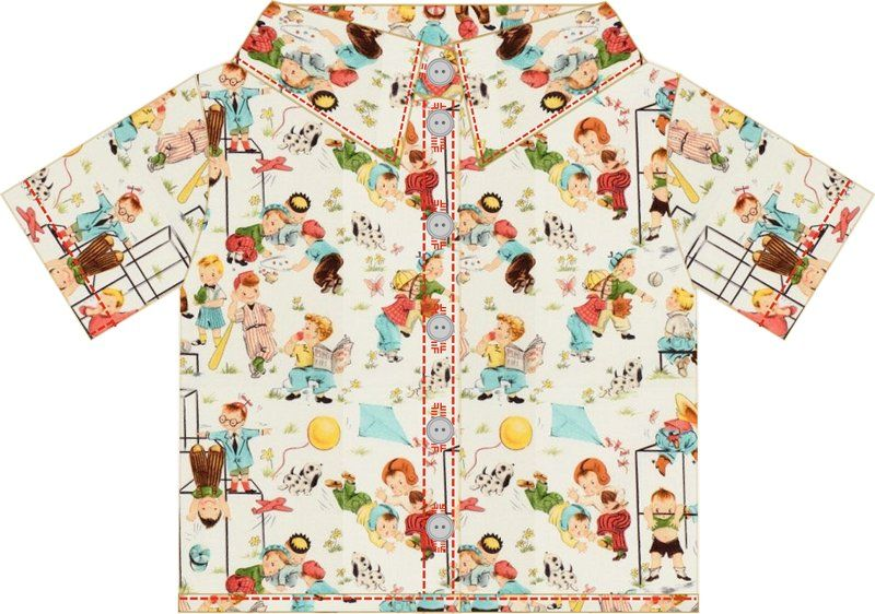 small dreamfactory: Free sewing tutorial and pattern boys shirt ...