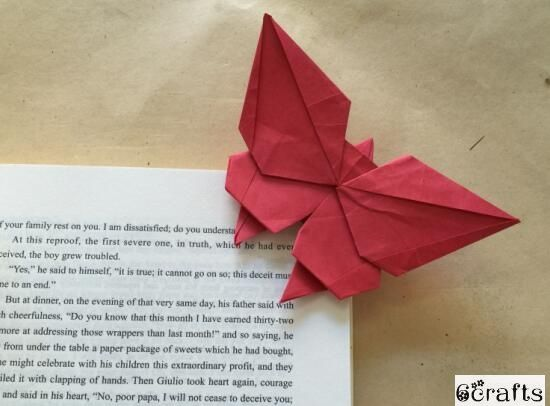 34 Origami Butterfly Bookmark