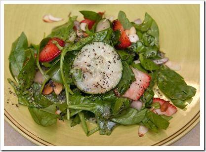 Strawberry poppyseed salad.