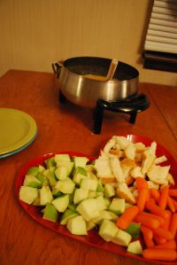 Fondue Night!! Recipes from the Melting Pot #brothfonduerecipes
