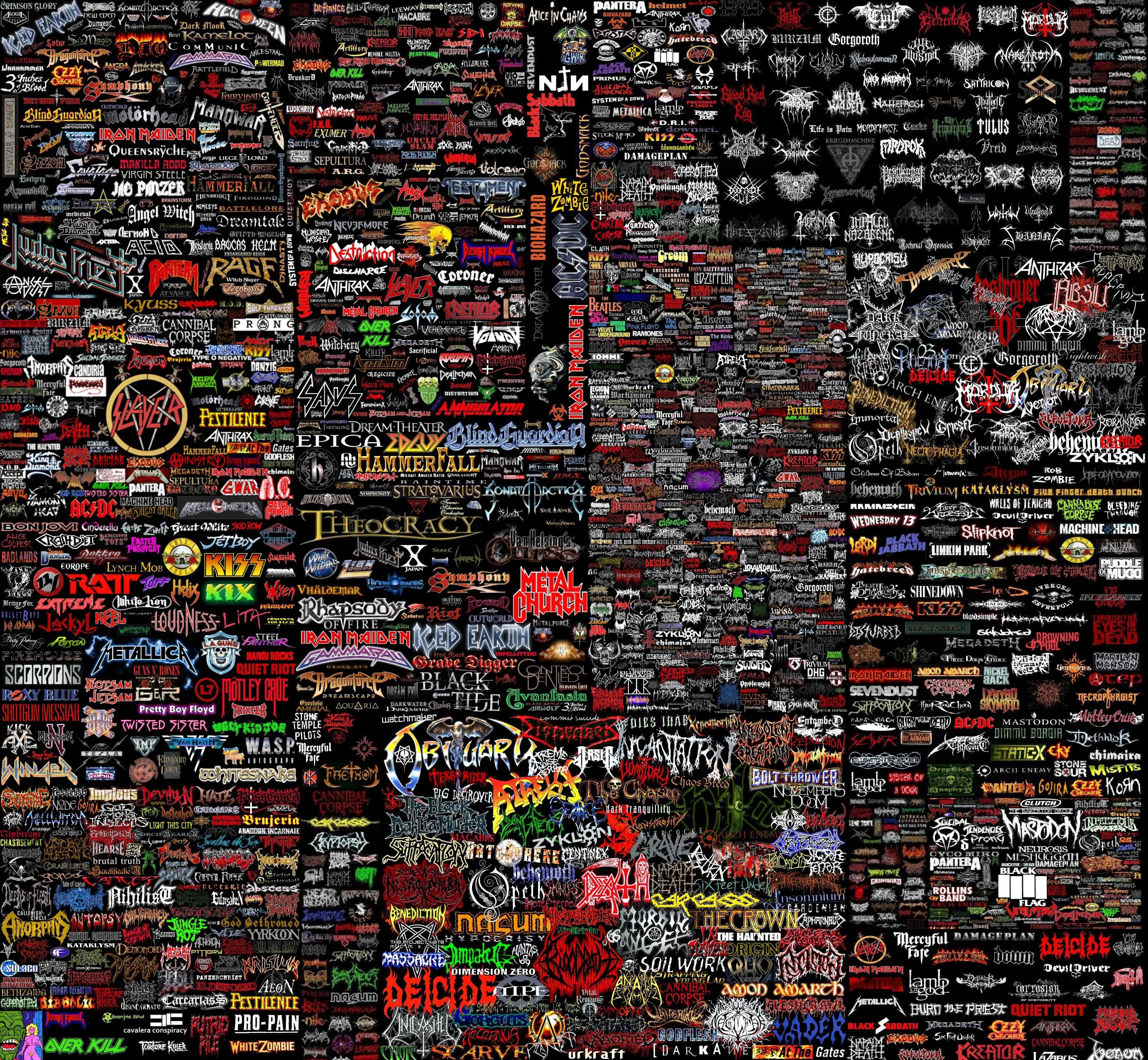 Metal Bands Jpg 3520 3252 Band Wallpapers Metal Bands Heavy Metal Bands