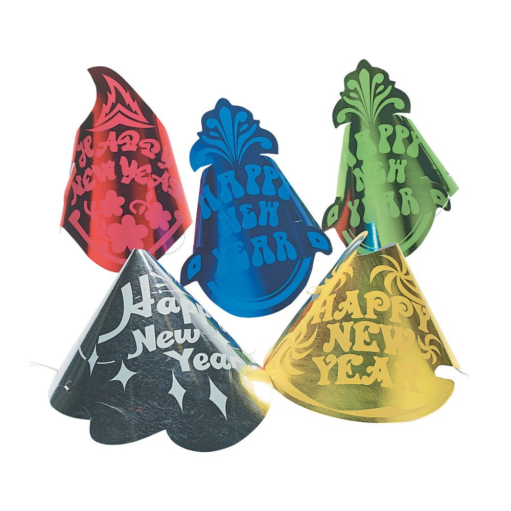 New Year's Cone Hats Assortment | Party supplies canada ...