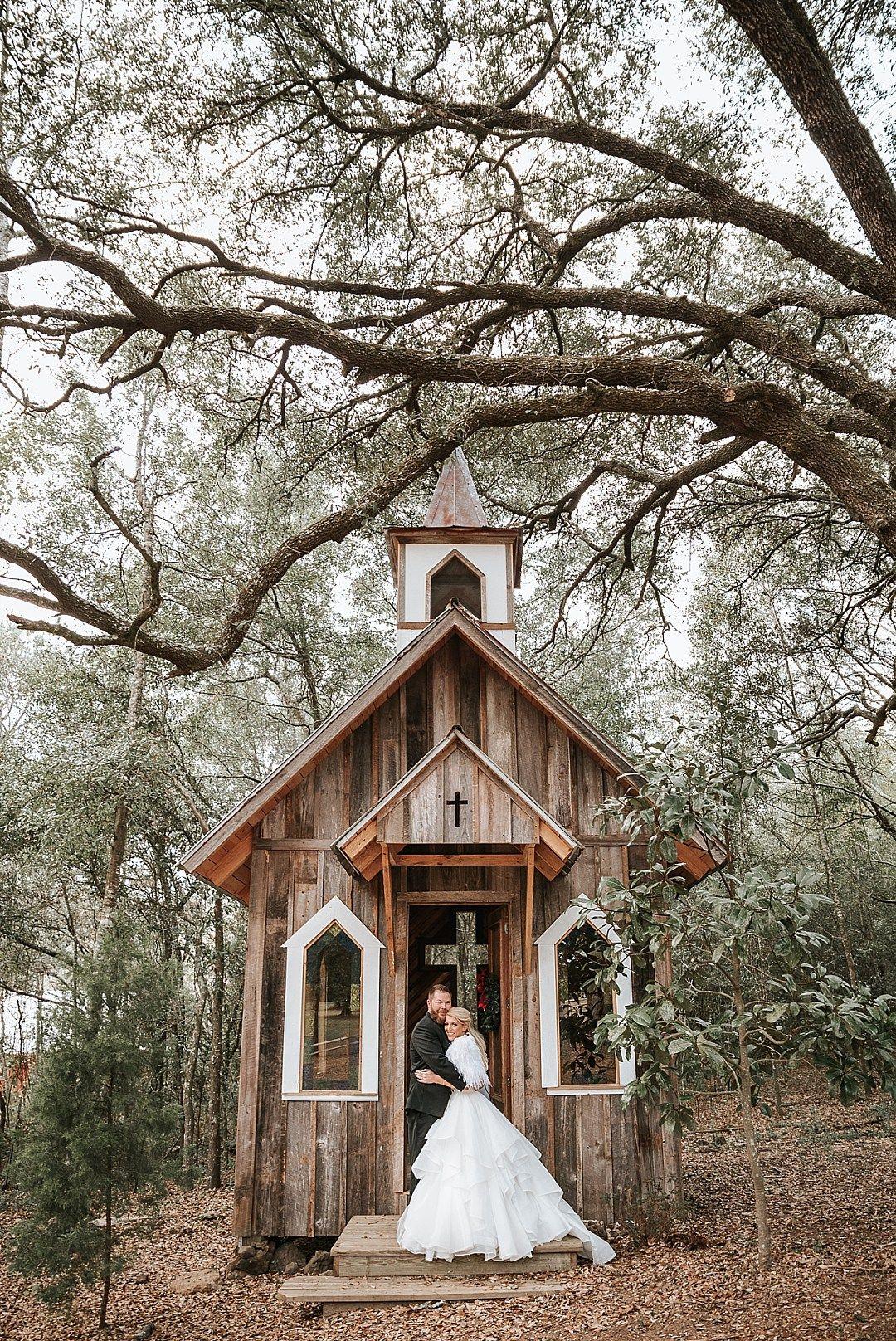 Sacred Heart Chapel, Fairhope and Hidden Lake Barn