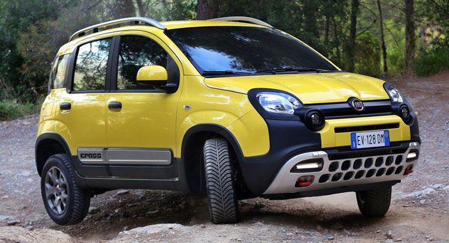 Fiat Details Panda Cross The Suv For The City 72 Photos Videos