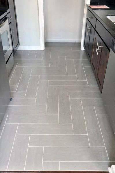 Top 50 Best Kitchen Floor Tile Ideas Flooring Designs Kitchen Floor Tile Patterns Herringbone Tile Floors Kitchen Floor Tile