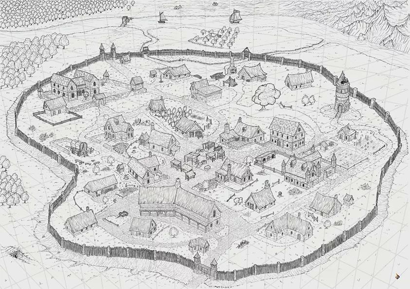 Pin By Kenneth Te On Cartography Rpg Maps 2 Fantasy Map Isometric Map Fantasy City Map