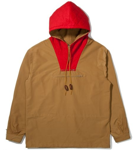 Bee Line Beige & Red Anorak Pullover Jacket | F-Box | Pinterest ...