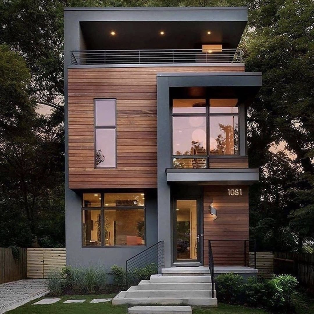 Best Architecture Worldwide En Instagram Which Facade Is Your Favourite 1 2 3 Or 4 In 2020 Modern House Design Architecture House House Designs Exterior
