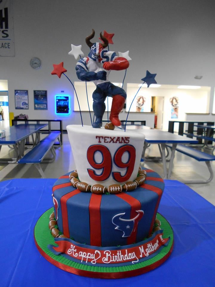 Just Saying For My 30th This Wouldnt Be Bad 99 Houston Texans Cake