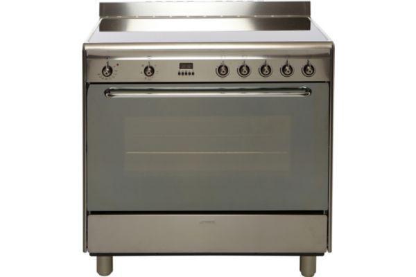 check-out 65614 38a04 Cuisinière vitrocéramique SAUTER SCV1061W | Electromenager ...