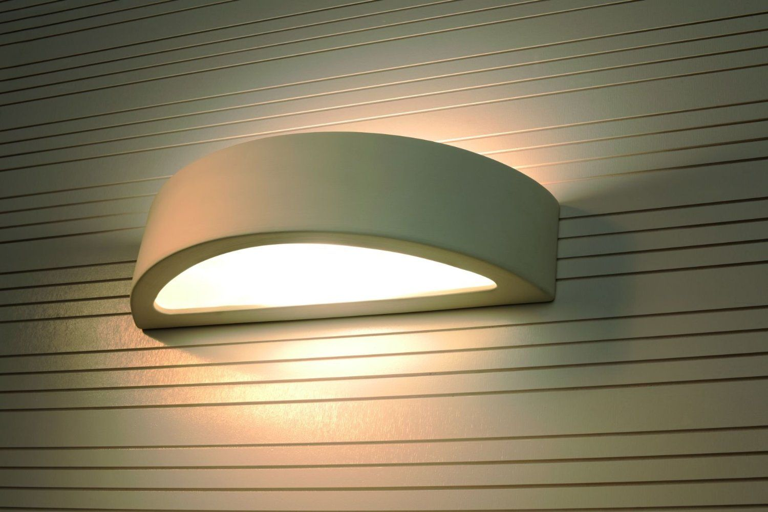 ORION Contemporary Sconces Indoor Wall Lamp Curved White Lighting