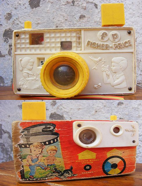 Picture story camera Fisher price 1967 by Olor a Gladiolos - VENTA DE ANTIGUEDADES EN CHILE, via Flickr