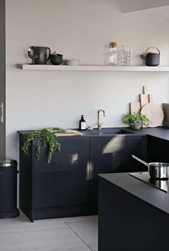 Cucine nere - Cucine minimal | Cucine nere, Cucine e Design