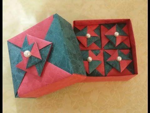 167.사각딱지조립상자접기.종이접기.종이공예.origami.인형.퀼트.