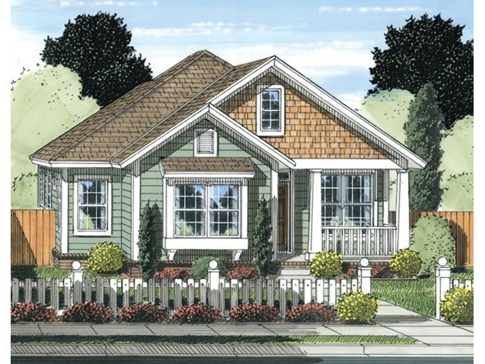Eplans cottage house plan 1420 square feet and 3 bedrooms for Eplans cottage house plan
