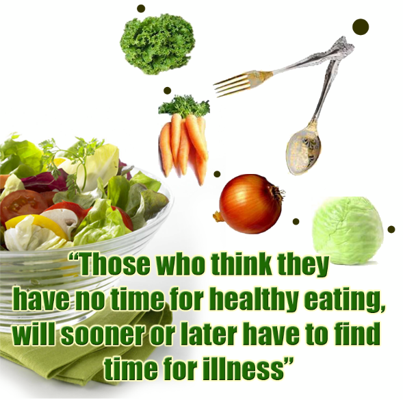 Quote on making time for being healthy. You can do it now