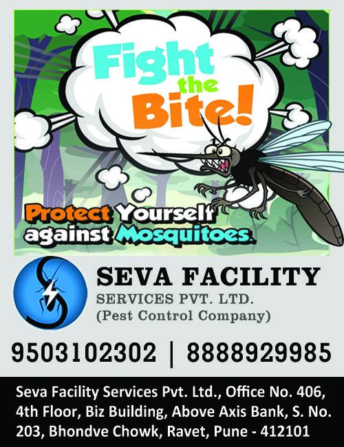 Mosquito Control Service in Seva Facility Services... Head