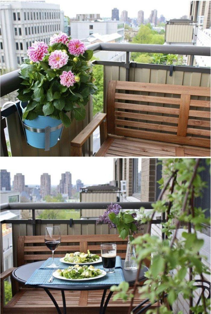 77 coole ideen f r platzsparende m bel womit sie kokett den kleinen balkon gestalten