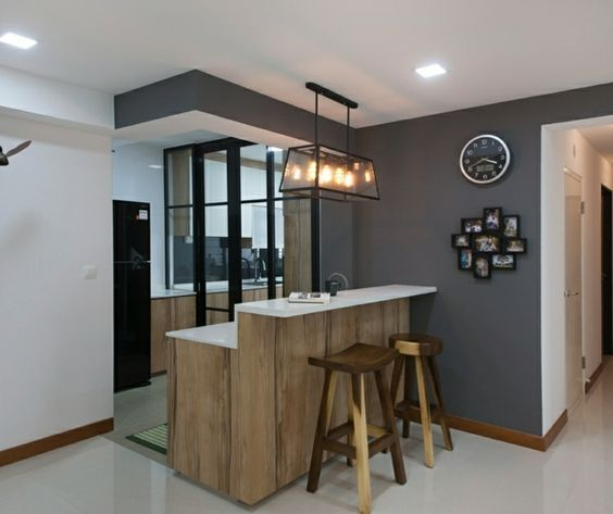 Apartamentos distribucion y dise o para interiores for Cocinas modernas apartamentos pequenos