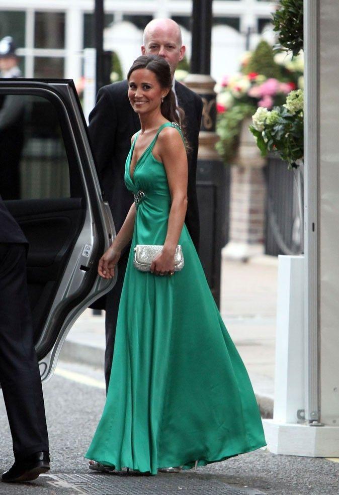 La robe Alice Temperley de Pippa Middleton.