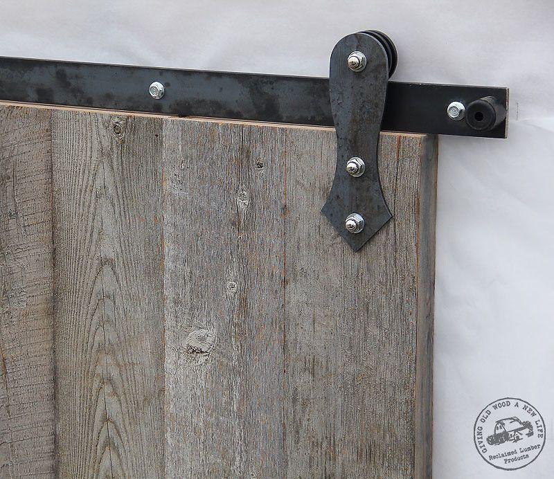 Barn Door Hardware RLP Flat Track Teardrop Hanger Reclaimed