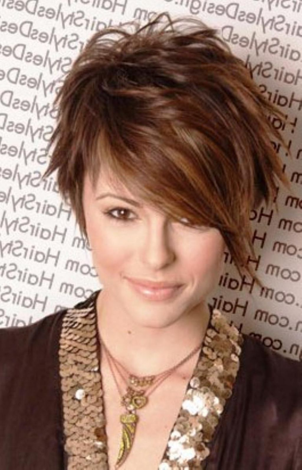 24 inspirational cut hairstyles for short hair: short funky