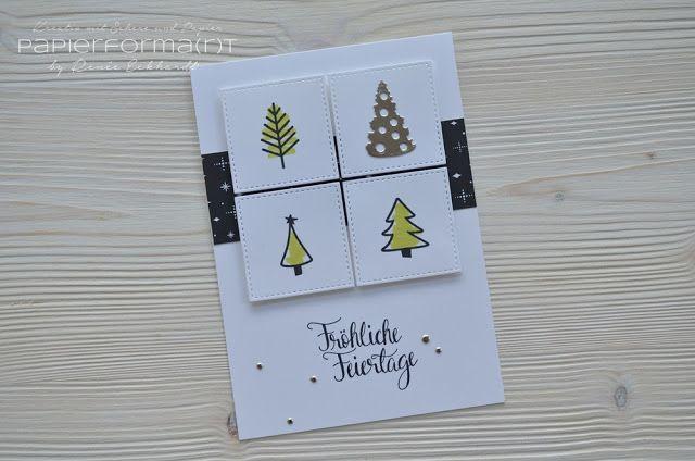 papierforma r t weihnachtskarte frohes fest. Black Bedroom Furniture Sets. Home Design Ideas